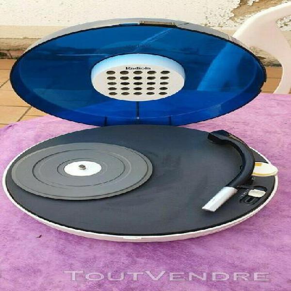 platine bleu radiola ufo patrice dupont pour pieces de 1969