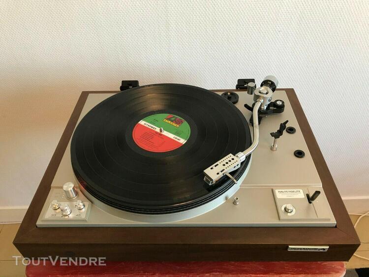 platine vinyle hifi pathe marconi tl167 vintage tourne-disqu