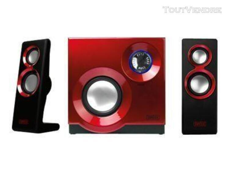 sweex 2.1 speaker system purephonic - système de