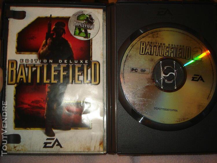Vintage jeu pc battlefield 2 edition deluxe 1 cdrom forces s