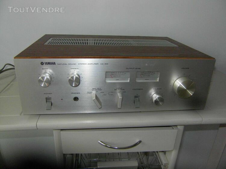 vintage yamaha natural sound ca-410 integrated amplifier