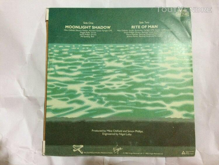45 tours mike oldfield moonlight shadow