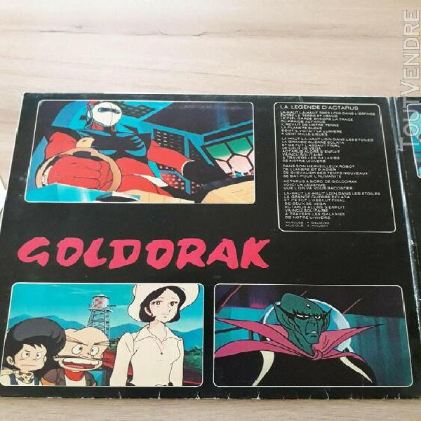 ancien disque 33 tours goldorak au cinema 1979