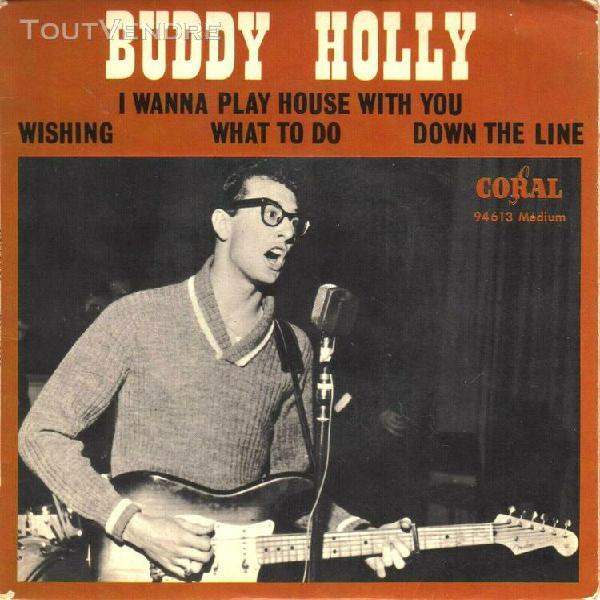 buddy holly - 45 t ep i wanna play house with you (1964 - fr