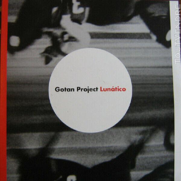 Cd album limited edition digipack + cd bonus gotan project l