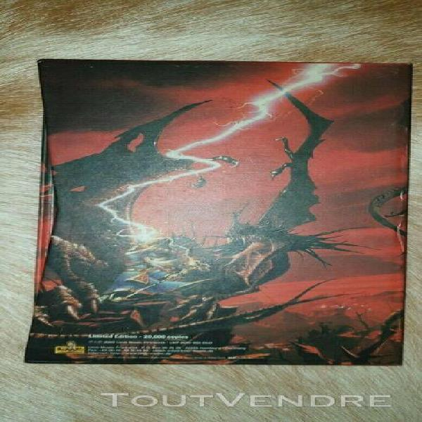 cd, livre rhapsody dawn of victory limited edition (20000 e