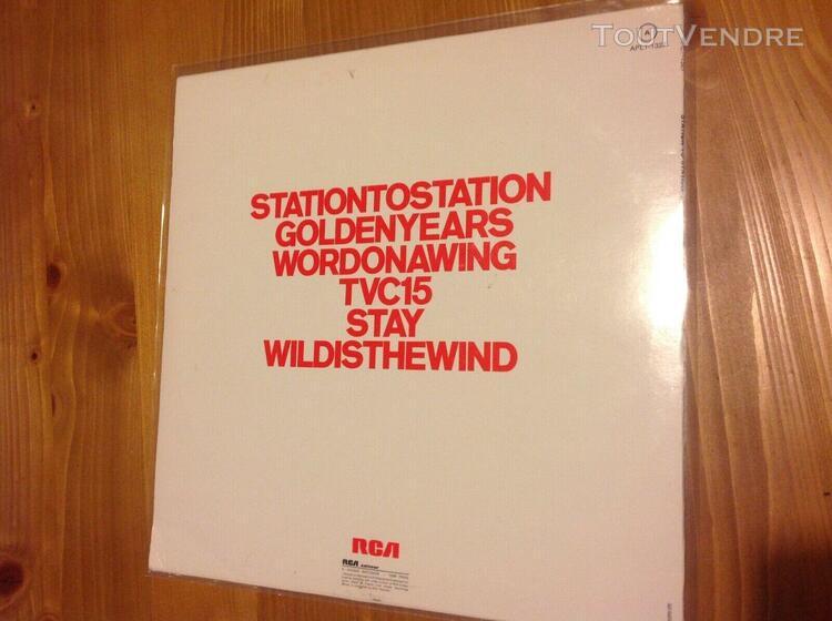 david bowie lp original station to station 1976