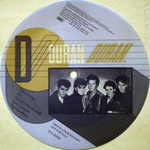 duran duran compilation disque souple uk