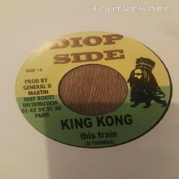 "king kong - this train - diop side 7"" mint"