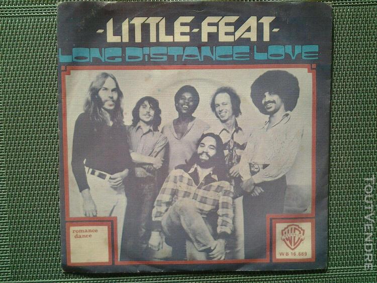 """little feat 7"""" 45 tours - long distance love / romance"""