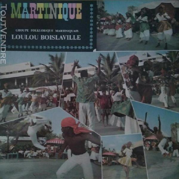 loulou boislaville - le groupe folklorique martiniquais - 19