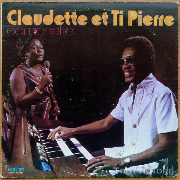 lp - claudette et ti pierre - camionette - haitian synth pop