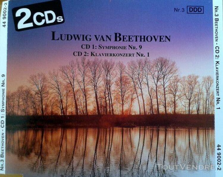 ludwig van beethoven symphony n°9 - piano concerto n°1