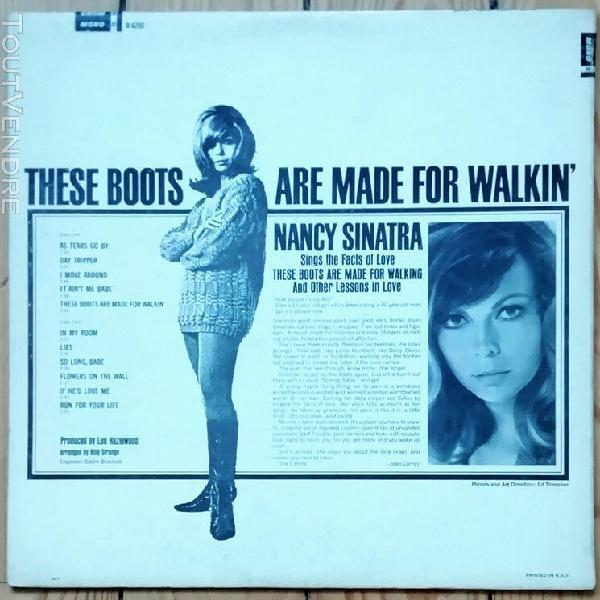 """nancy sinatra / """"boots"""" / original u.s. lp reprise r6202 mon"""