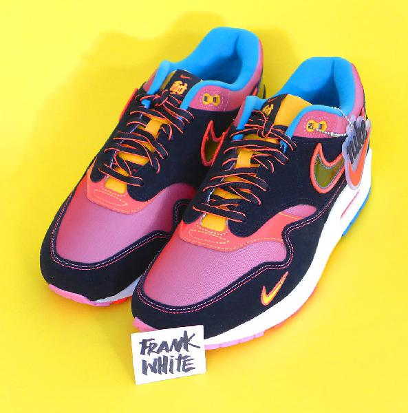 Nike air max 1 'chinatown new york' - 8us/41eu