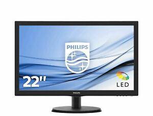 """Philips 223v5lsb2/10 ecran pc led 21,5"""" (55 cm) (full hd"""