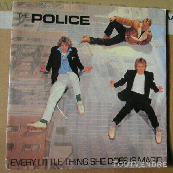 police every little thing new wave 45t pressage anglais