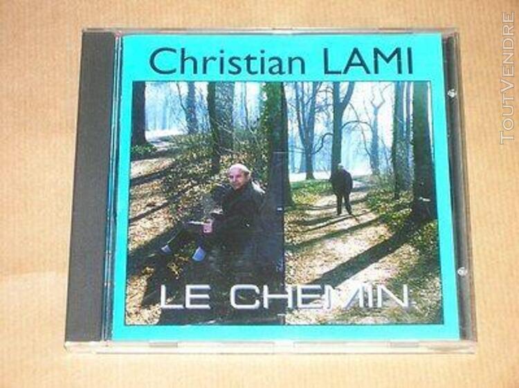 rare cd / christian lami / le chemin / tres bon etat