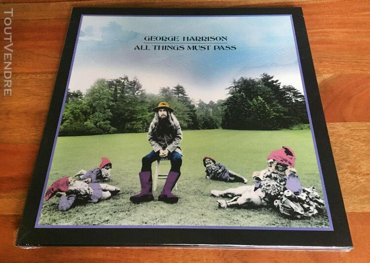 sealed george harrison box 3 x lp vinyl remaster 2001 all
