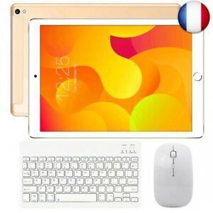 Tablette tactile 10 pouces 4g wifi doule sim, tablettes