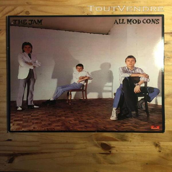 the jam - all mods con original 1978 pold 5008, 2442 155