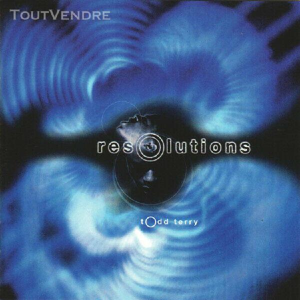 todd terry - resolutions (cd, album) 1999 drum n bass