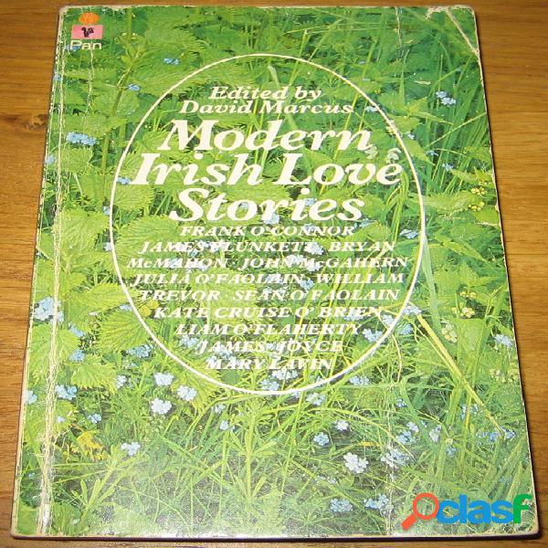 Modern irish love stories, david marcus