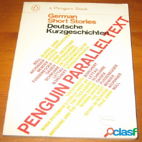 German short stories - deutsche kurzgeschichten