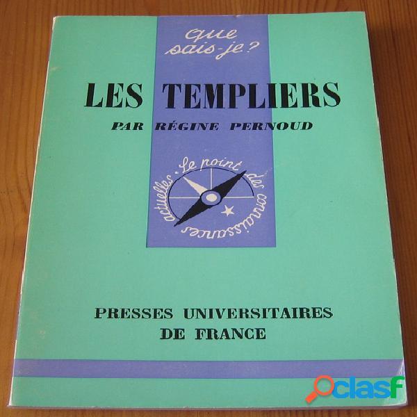 Les templiers, Régine Pernoud