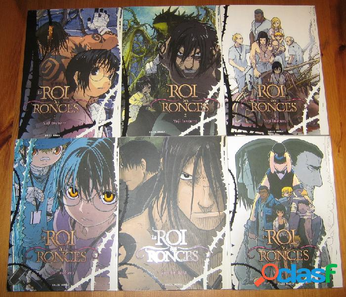 Le roi des ronces (tomes 1 à 6, en couleur), yuji iwahara
