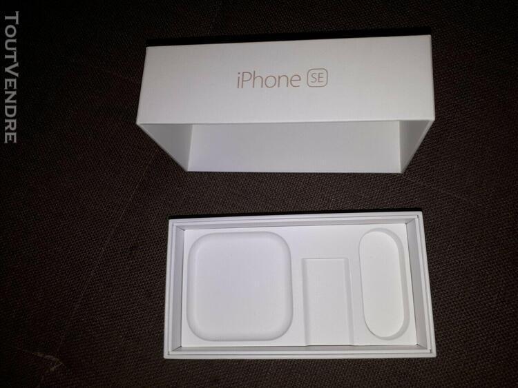 boite vide originale pour iphone se 64go rose gold modèle