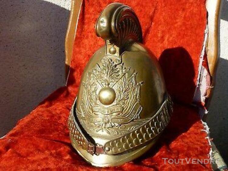 casque pompier 1855 de loury 45 loiret