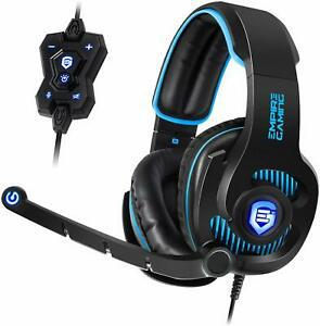 Empire gaming h1800 - casque gamer pc son surround 7.1