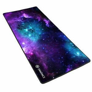 Enhance tapis de souris gaming xl, large surface en tissu