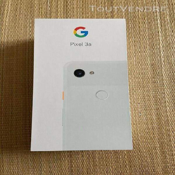 google pixel 3a clearly white / résolument blanc