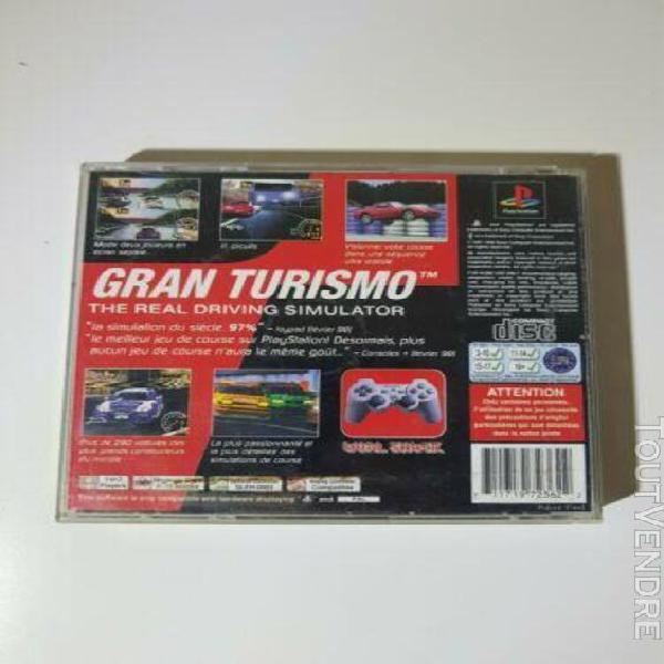 Gran turismo - playstation 1 (ps1) pal fr