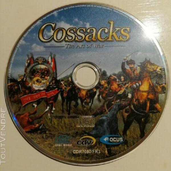 Jeux videos cossacks pc cd only not tested loose