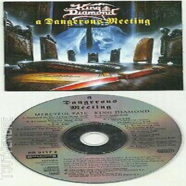 King diamond / mercyful fate: a dangerous meeting split cd