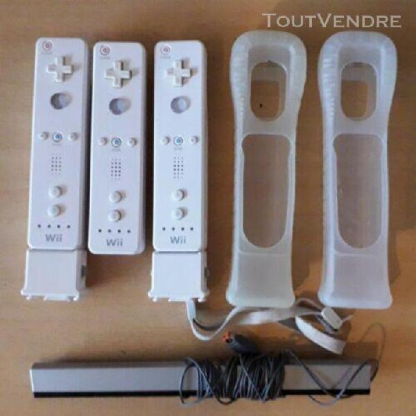 Lot console nintendo wii + jeux