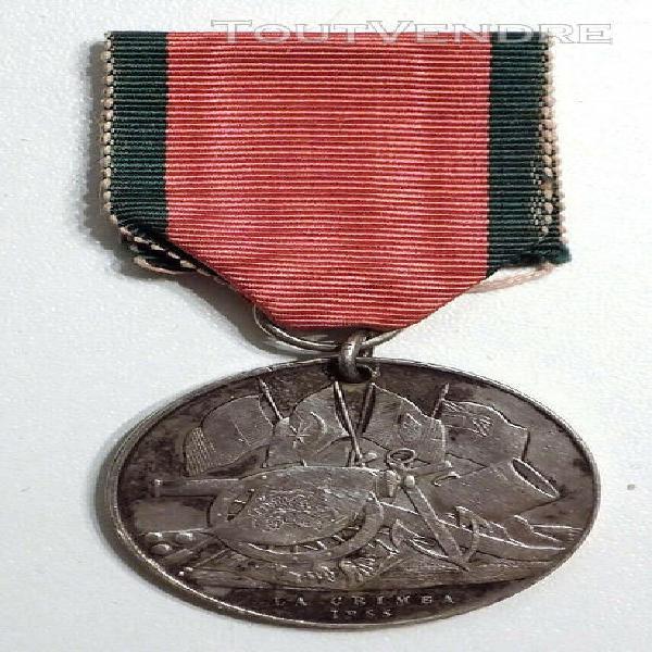 rare médaille de crimée turque/sarde attribuée à un
