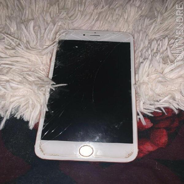 smartphone apple iphone 6s plus - 32 go - or rose