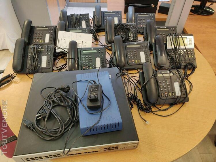 système de téléphonie numeris en très bon état de