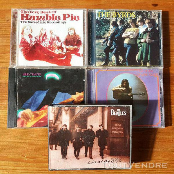 The beatles live at bbc/best of humble pies/best of the byrd