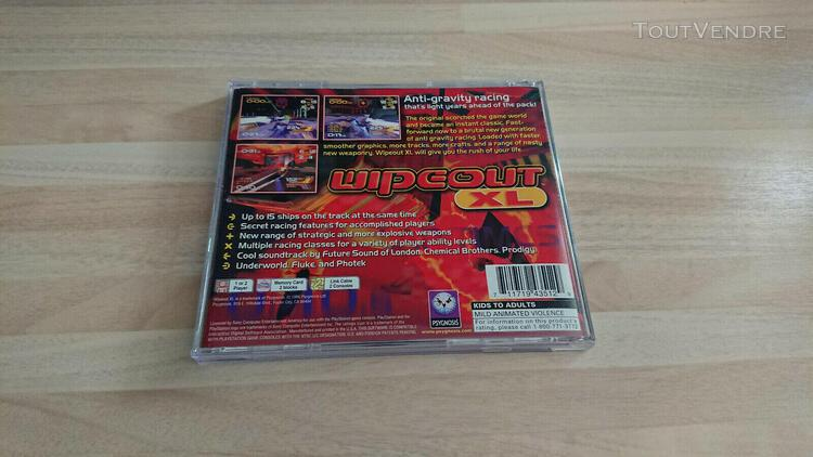 Wipe out xl wipeout xl ps1