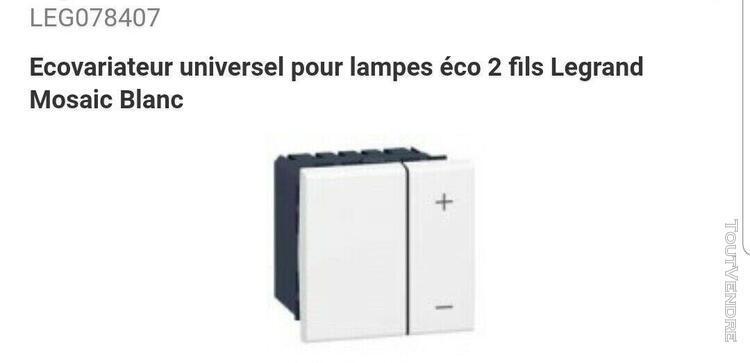 78407 ecovariateur universel pour lampe Éco 2 fils legrand