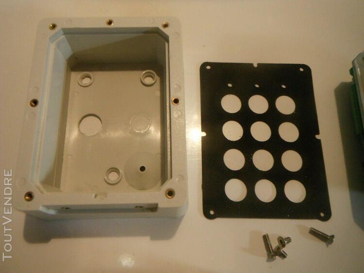 clavier 2 relais acie su2 + boitier inox occasion