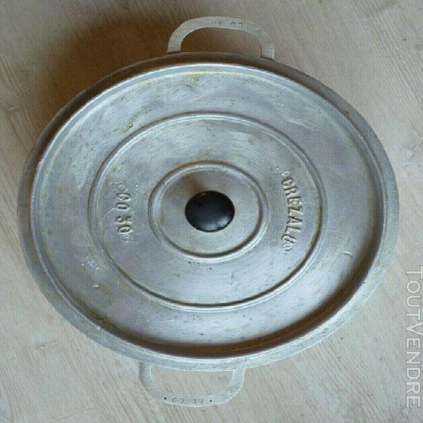 Cocotte / marmite, fonte d'aluminium crezalu diamètre 30 cm