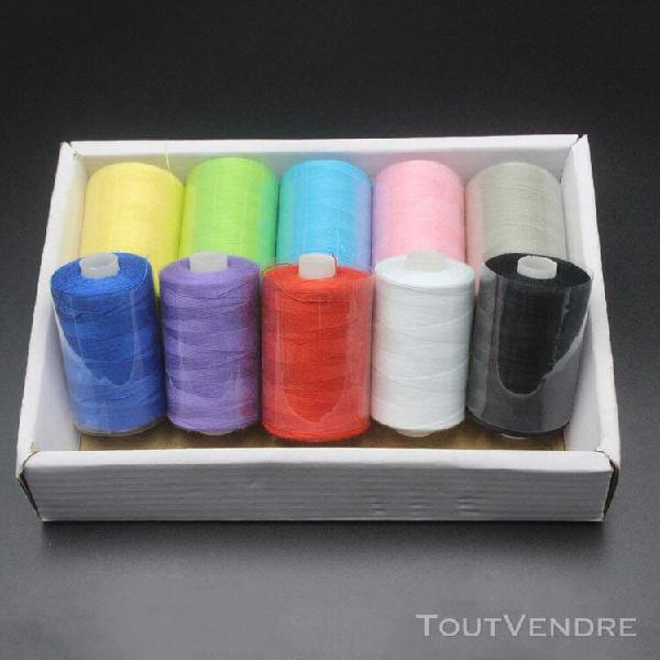 couture des ménages fil de haute qualité 10 couleur set