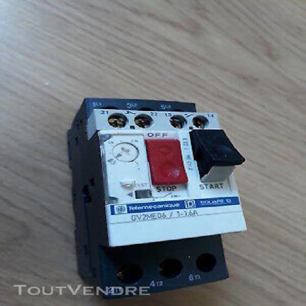 disjoncteur magnéto-thermique gv2me06 télémécanique 1 à