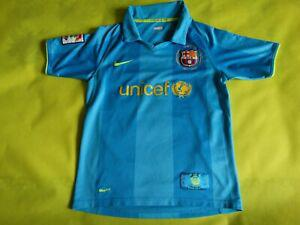 Maillot foot barcelone barça 2007 10/12 ans jersey camiseta